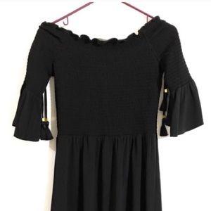 Off shoulder black Michael kits dress
